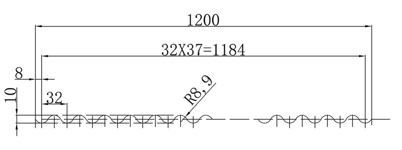 1200型PC波浪瓦