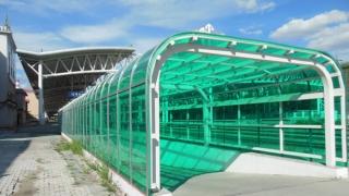 肇东火车站耐力板雨棚
